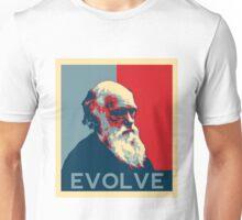 Charles Darwin Evolve Evolution Unisex T-Shirt
