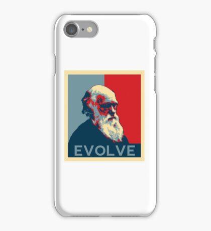 Charles Darwin Evolve Evolution iPhone Case/Skin