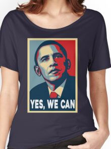 OBAMA - YES WE CAN Women's Relaxed Fit T-Shirt