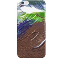 """The amazing effect of the slow speed 11  (c)(t) a PAINT    with humor ! """"Kiss the cool effect"""" without digital effects with compact kodak z 1285! on 29.07.2012 iPhone Case/Skin"""