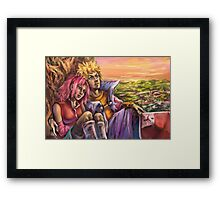 Calming Sunset Framed Print