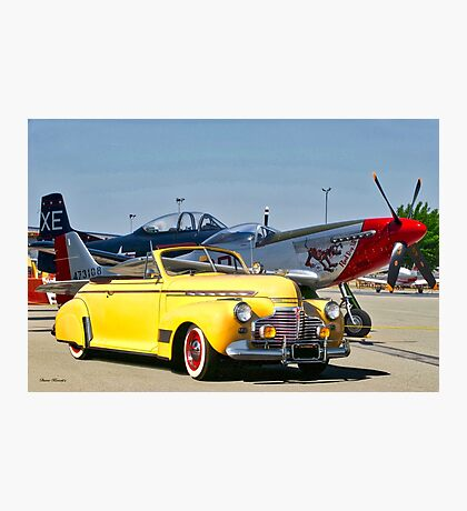 1941 Chevrolet Special Deluxe Convertible Photographic Print