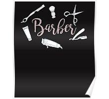Barber Hair Stylist Salon Poster
