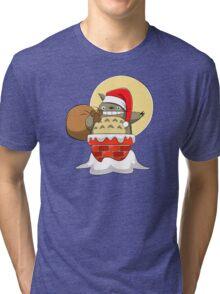 My Neighbor Santa Tri-blend T-Shirt