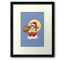 My Neighbor Santa Framed Print