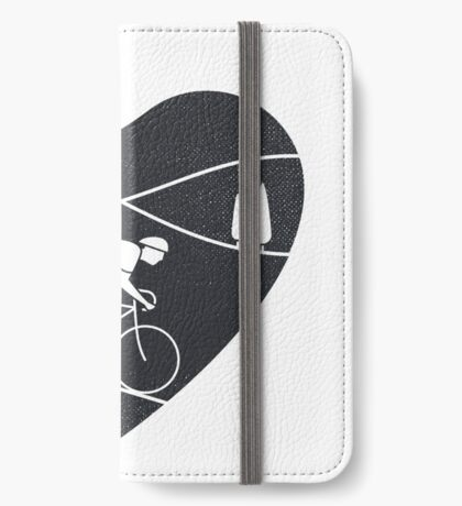 Love Cycling  iPhone Wallet