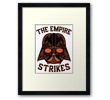 The Empire Strikes Framed Print