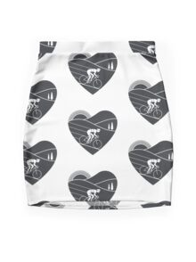 Love Cycling  Mini Skirt