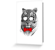 Be Tiger Smart Greeting Card