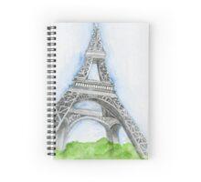 Under The Eiffel Tower Spiral Notebook