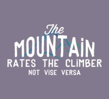 The Mountain Rates The Climber Kids Clothes