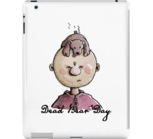 Dead Bear Day iPad Case/Skin