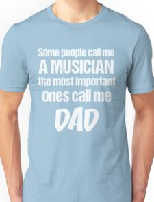 T-Shirt Funny Definition Musician Dad Unisex T-Shirt