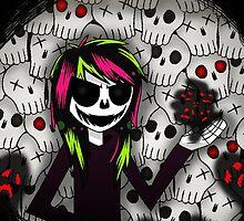 Skull Kid and more Skulls by DaniDrama