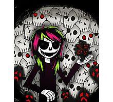 Skull Kid and more Skulls Photographic Print