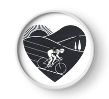 Love Cycling  Clock