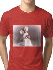 Angel........... Tri-blend T-Shirt