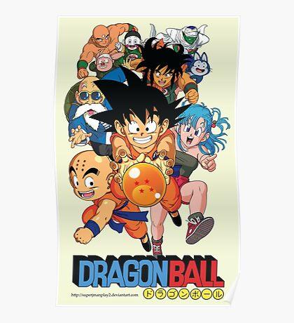 DRAGON BALL TEAM Poster