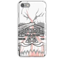 Cutthroat Killers Logo iPhone Case/Skin