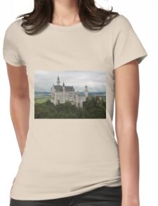 Neuschwanstein Castle Womens Fitted T-Shirt
