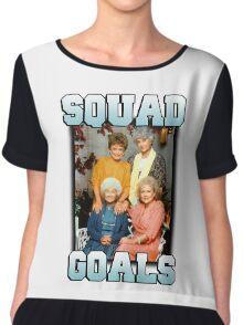 Golden Girls Squad Goals Chiffon Top