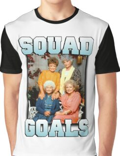 Golden Girls Squad Goals Graphic T-Shirt