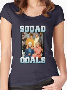 Golden Girls Squad Goals Women's Fitted Scoop T-Shirt
