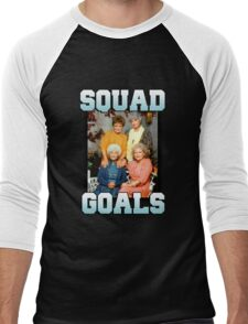 Golden Girls Squad Goals Men's Baseball ¾ T-Shirt