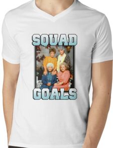 Golden Girls Squad Goals Mens V-Neck T-Shirt