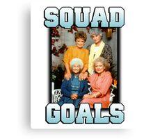 Golden Girls Squad Goals Canvas Print