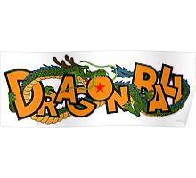 DRAGON BALL LOGO Poster