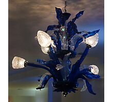 0068 Blue Lamp Photographic Print