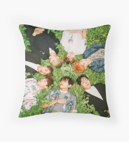 bangtan boys  Throw Pillow