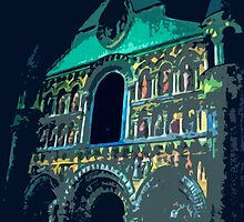"Notre dame like you've never seen...  2 (t) as paint "" Picasso ""! olao-olavia  okaio Créations by Okaio - Olivier Caillaud"