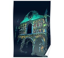 """Notre dame like you've never seen...  2 (t) as paint """" Picasso """"! olao-olavia  okaio Créations Poster"""