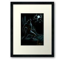 Howl of the Werewolf Framed Print