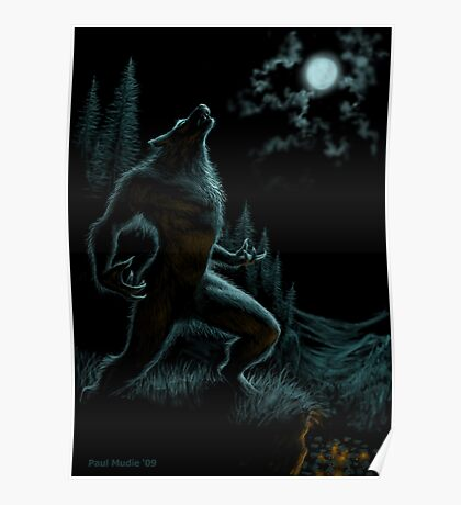 Howl of the Werewolf Poster