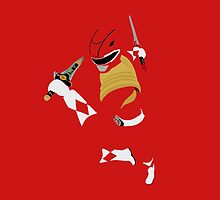 Armored Red Ranger Pillow by simplepete