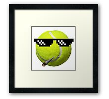 The Ball Life Framed Print