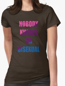 Bisexual Womens Fitted T-Shirt