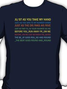 Radiohead - Jigsaw Falling Into Place (Lyrics) T-Shirt