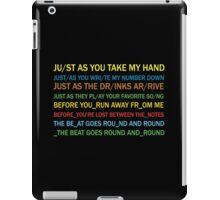 Radiohead - Jigsaw Falling Into Place (Lyrics) iPad Case/Skin