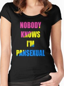 Pansexual Women's Fitted Scoop T-Shirt