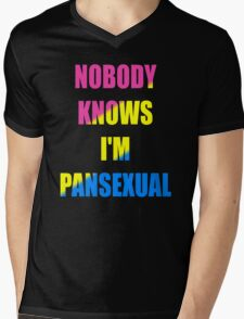 Pansexual Mens V-Neck T-Shirt