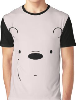 Ice Bears Face Graphic T-Shirt