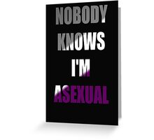 Asexual Greeting Card