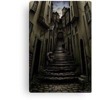 Rue d'Auseil Canvas Print