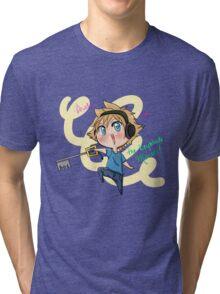 The keyblade master! Tri-blend T-Shirt