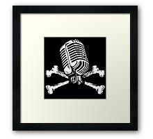 PIRATE RADIO Framed Print