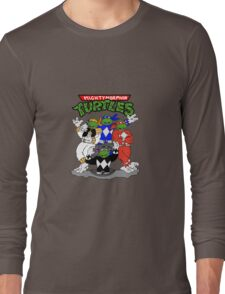 Mighty Morphin Turtles  Long Sleeve T-Shirt